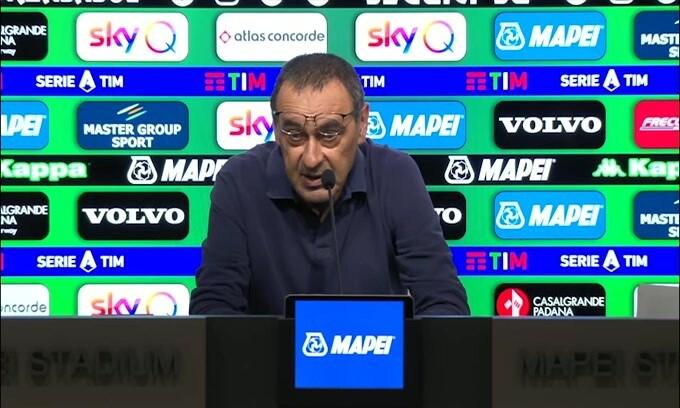 """Sarri: """"Non solo la Juve è in difficoltà"""""""
