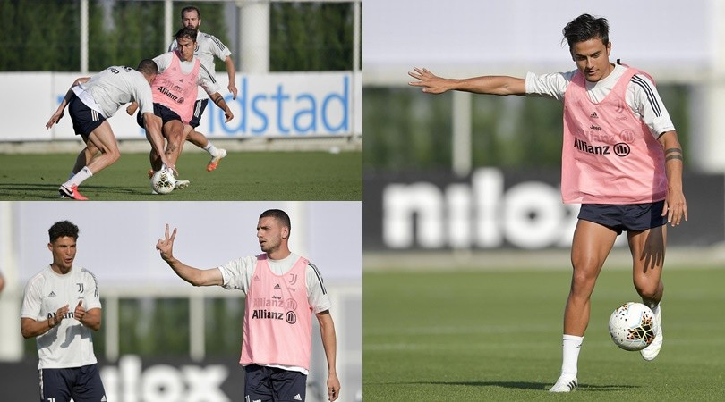Juve, Dybala punta la Lazio e scalda il mancino. Ronaldo applaude Demiral