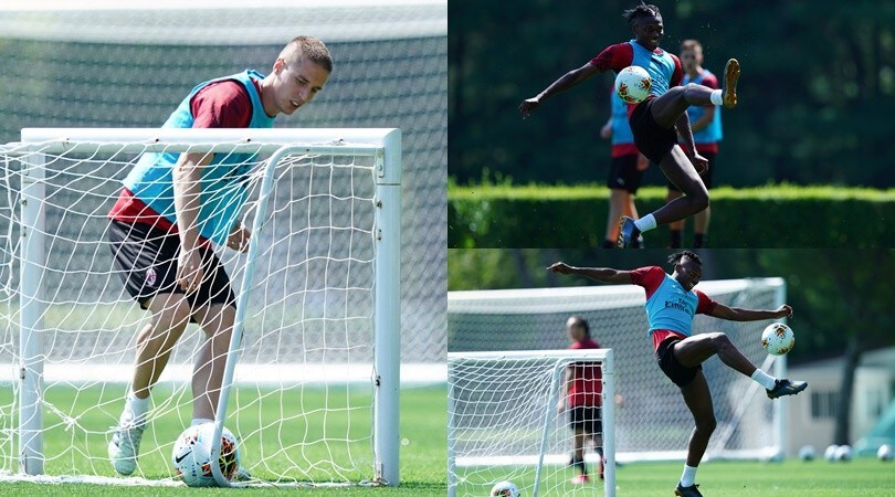 Il Milan non si ferma più, che colpi di Leao in allenamento!