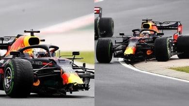 Verstappen: colpo di scena! Incidente nel warm-up del GP d'Ungheria