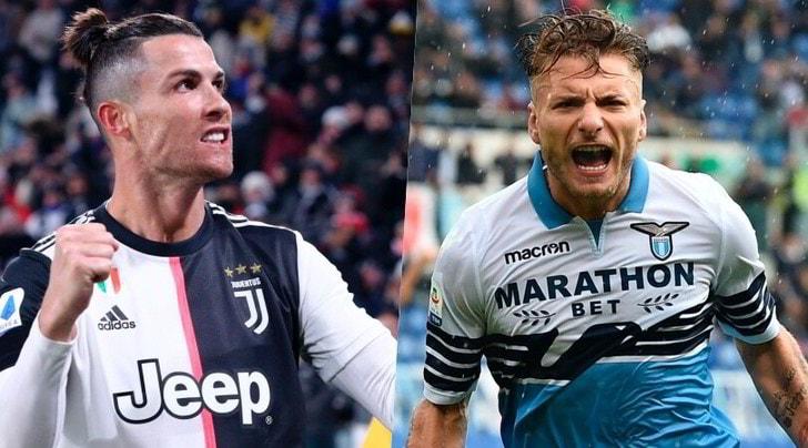 Ronaldo sfida Immobile: il duello per diventare il Re del gol