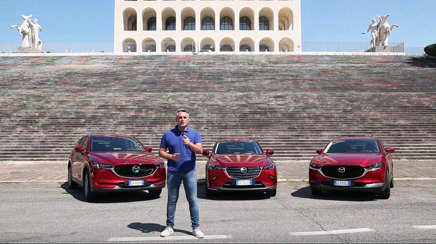Il mondo SUV e crossover di Mazda: di che CX-Sei? VIDEO
