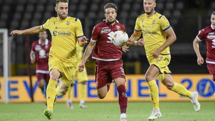Torino-Verona 1-1, il tabellino