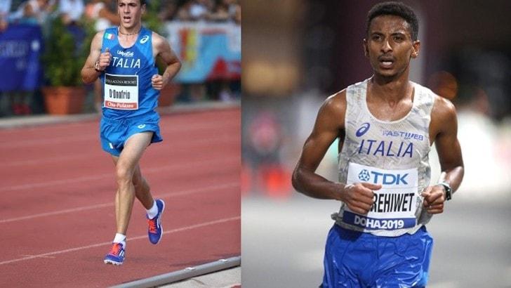 Castelbuono Virtual Race, presenti Eyob Faniel e Daniele D'Onofrio