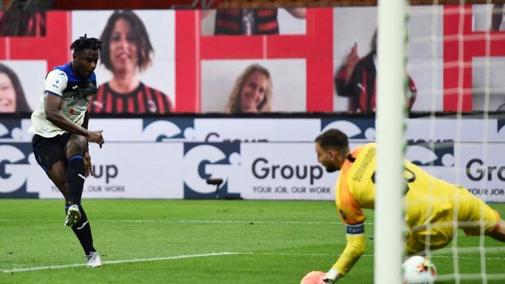 Milan-Atalanta 1-1: Zapata risponde a Calhanoglu. Gasp a -5 dalla Juve