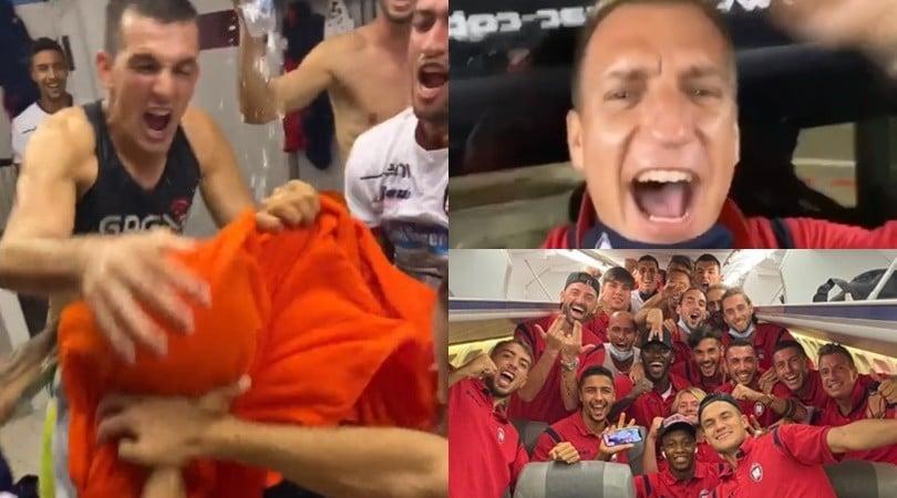 Maxi Lopez, show sui social per il Crotone in Serie A