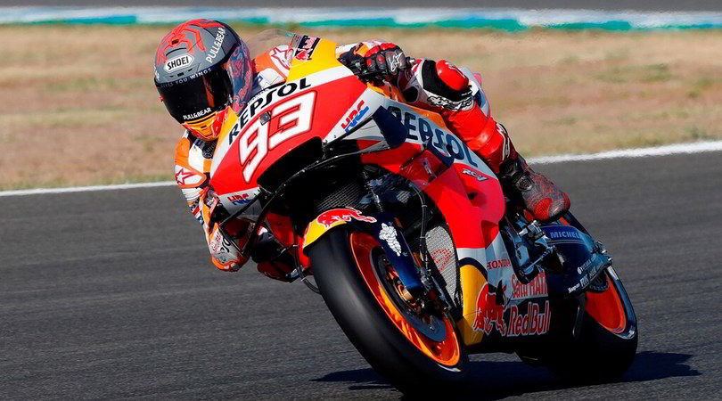 Gp Andalusia, Nakagami il più veloce in FP4: Rossi 11°, Marquez indietro