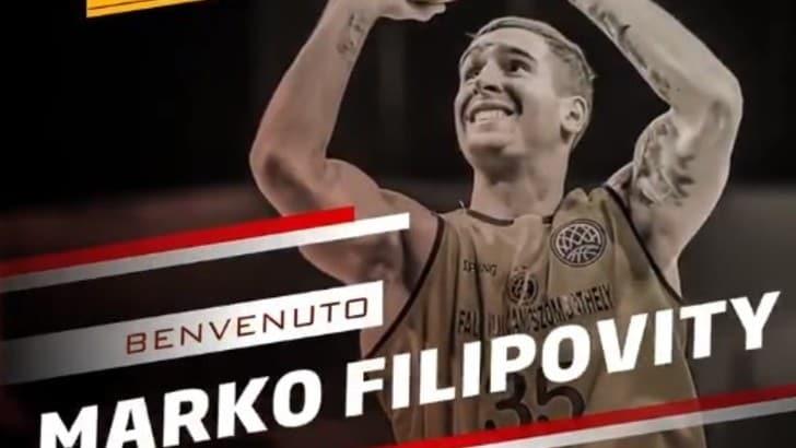 Basket, Pesaro ingaggia Marko Filipovity