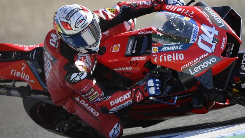 Gp Andalusia: Quartararo precede Dovizioso nel warm up, Rossi 12°
