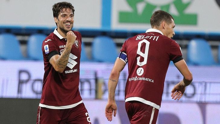Il Torino centra la salvezza: 1-1 con la Spal, esulta Longo