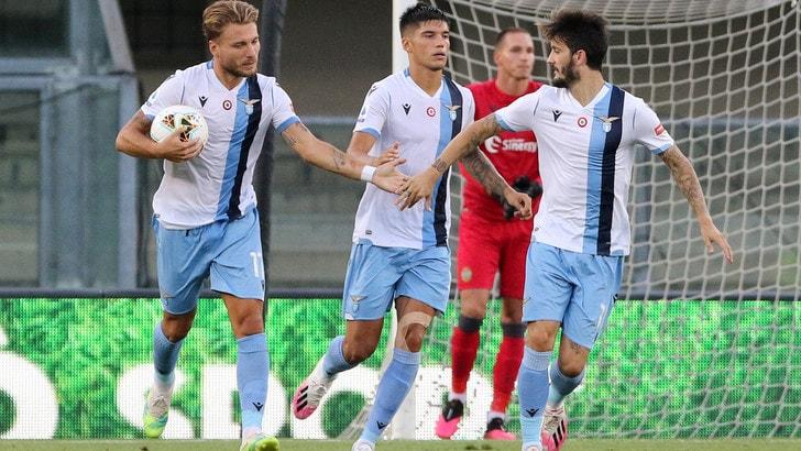 Verona-Lazio 1-5, il tabellino
