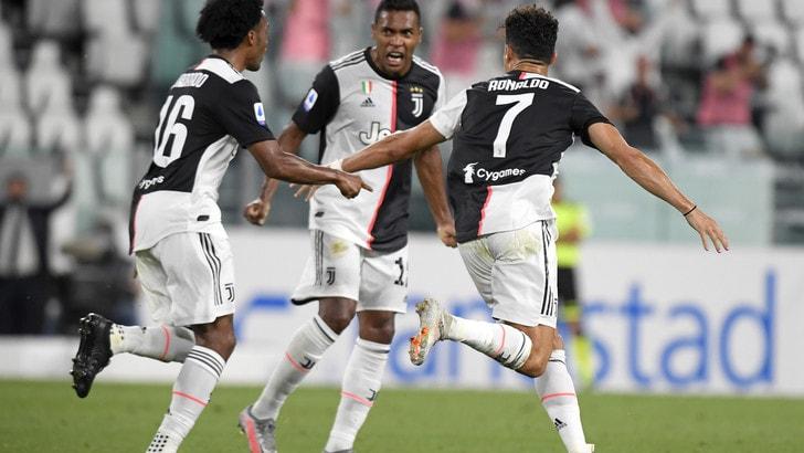 Juve-Sampdoria 2-0, il tabellino