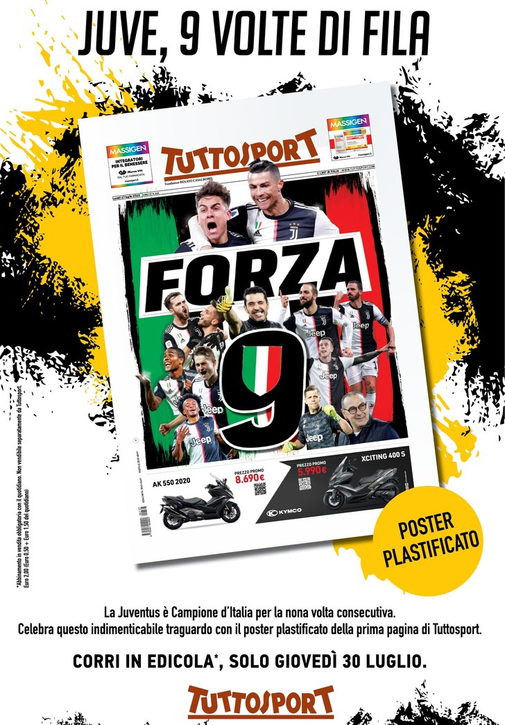Juve - Forza 9