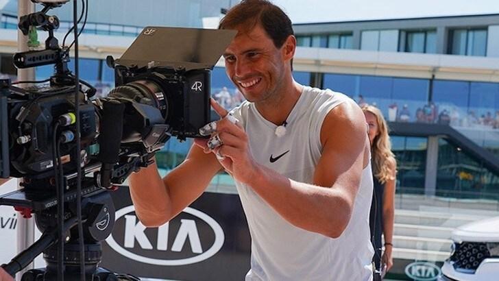 Rafa Nadal rinnova con Kia per altri 5 anni