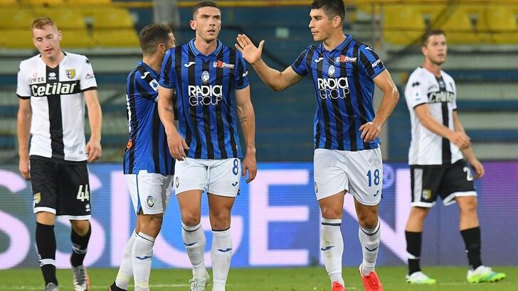 Parma-Atalanta 1-2: Malinovskyi e Gomez show, Kulusevski non basta
