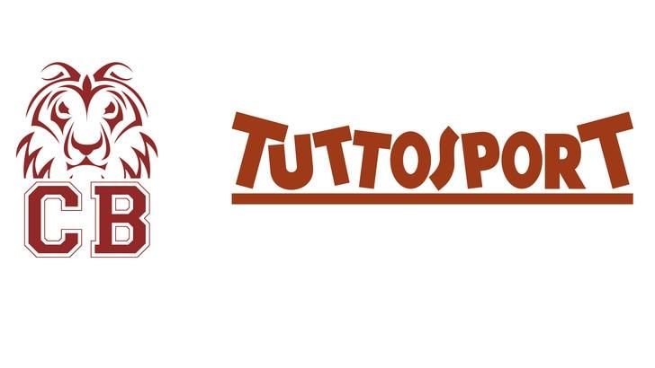 Tuttosport media partner di Collegno Basket per la stagione 2020-21
