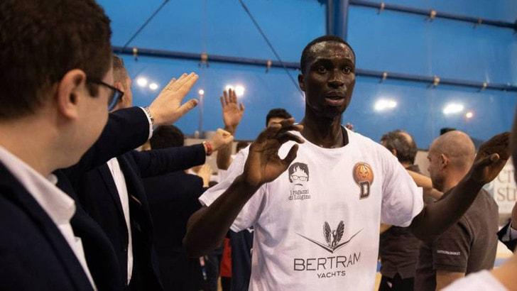 Derthona Basket: Magaye Seck ceduto in prestito