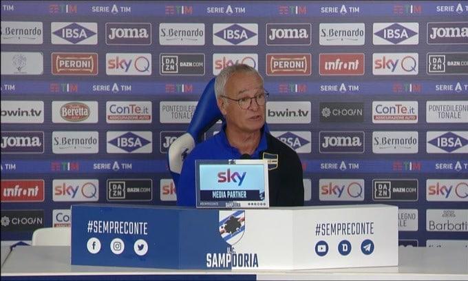 """Ranieri: """"Futuro? Ho ancora un anno di contratto"""""""