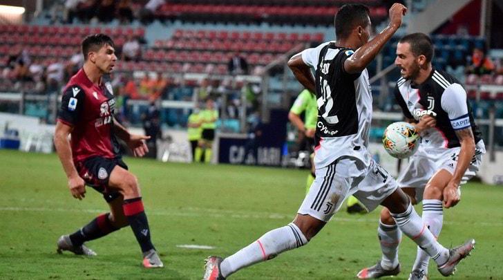 Cagliari-Juve, le pagelle: Rugani e Bonucci, non va
