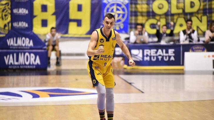 Basket, Cappelletti firma per due anni con la Reale Mutua Torino