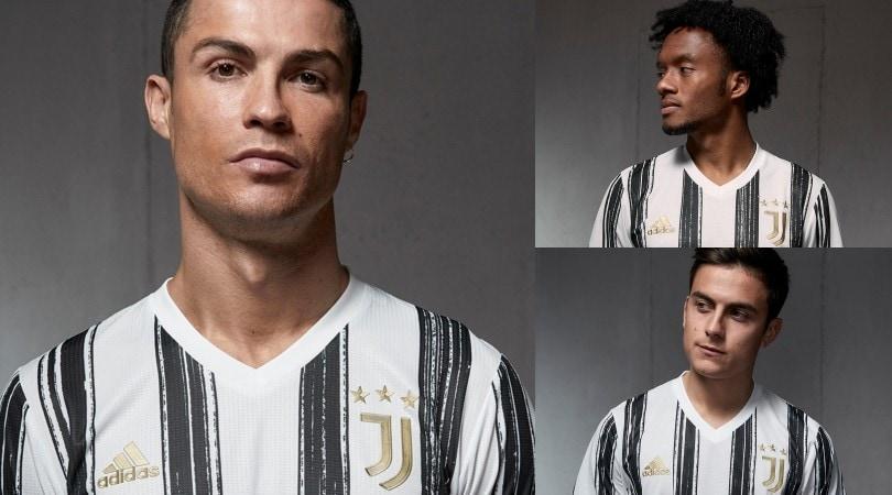 La Juve presenta la nuova maglia con Cristiano Ronaldo in copertina