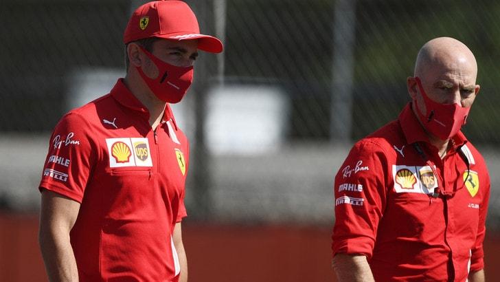 Gp Silverstone, Leclerc: