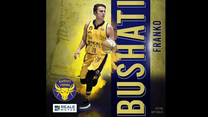 Franko Bushati prolunga con Basket Torino