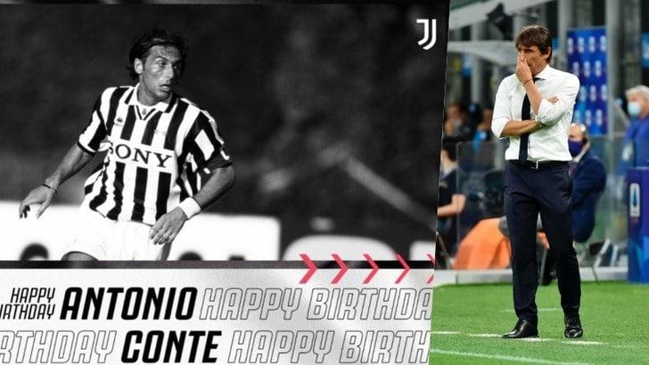 Juve, auguri ad Antonio Conte per il compleanno