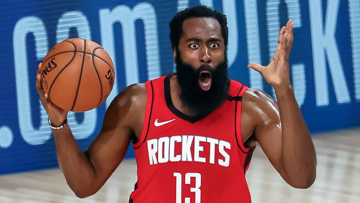 Nba, Harden show con 49 punti. Vince Belinelli