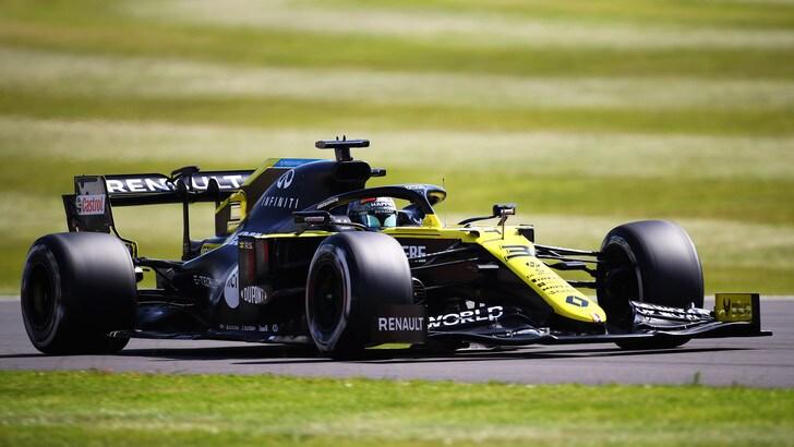 GP Gran Bretagna, cambiato il telaio alla Renault di Ricciardo
