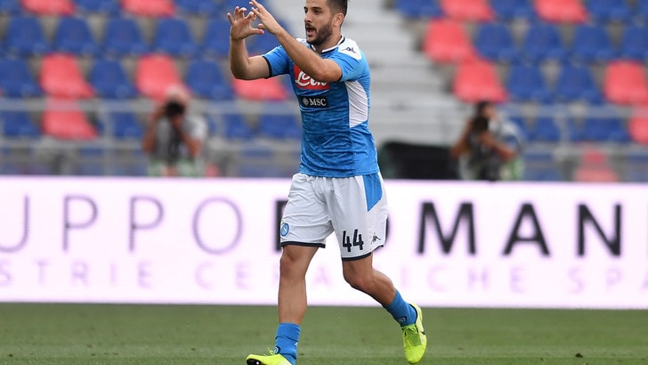 Napoli, con la Lazio torna Manolas: non convocato Llorente