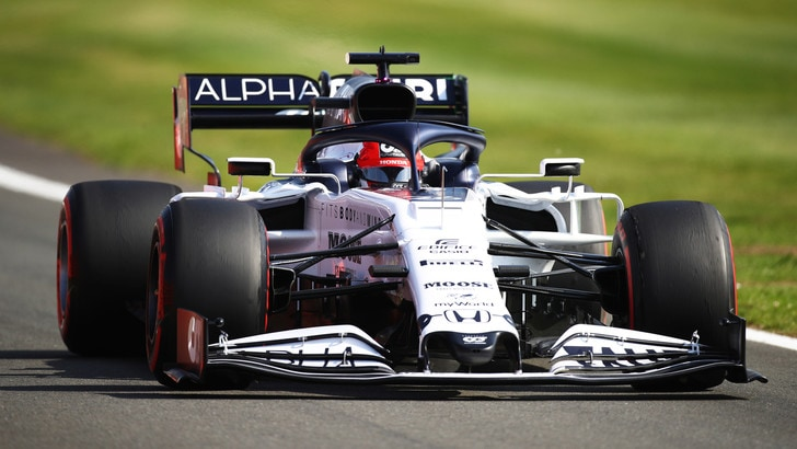GP Gran Bretagna, Kvyat perderà cinque posti in griglia