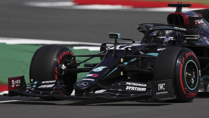 GP Gran Bretagna: super Leclerc Ferrari quarta. Hamilton sempre in pole