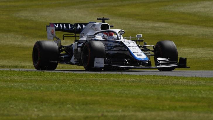 GP Gran Bretagna, Russell arretrato in ultima fila