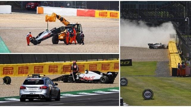 Magnussen, incidente pauroso nel Gran Premio di Silverstone