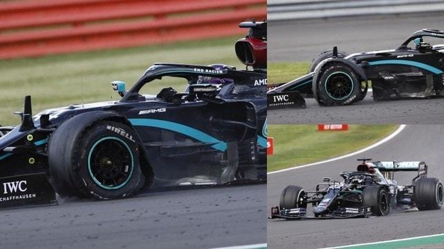 Incredibile Hamilton: vince anche su tre ruote