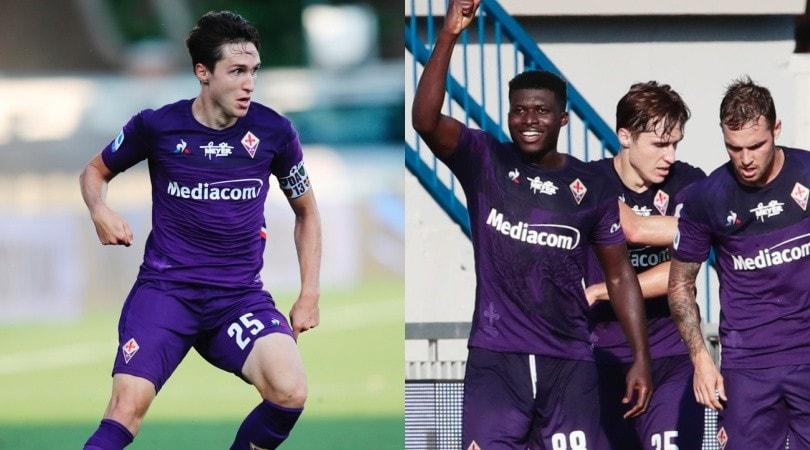 Kouame entra e segna, Chiesa protagonista: tris Fiorentina alla Spal