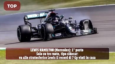 Gp Gran Bretagna Top e Flop: i momenti salienti del weekend di F1
