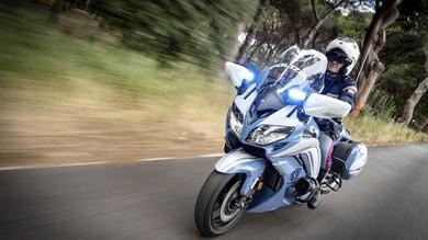 La Polizia sceglie la sua nuova moto: è Yamaha FJR1300AE