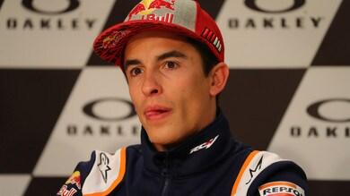 MotoGP, Marc Marquez presenta il casco per il 2021