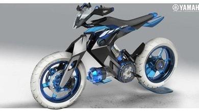 Yamaha XT 500 H2O Concept: ad alimentare la moto è l'acqua