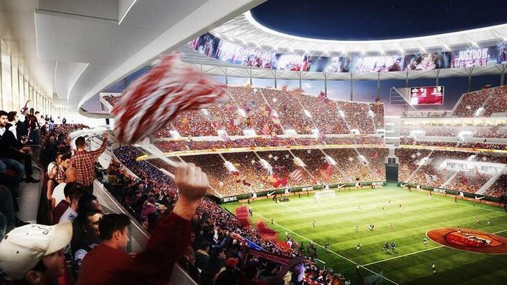 Stadio Roma, un altro passo: la Raggi approva due delibere