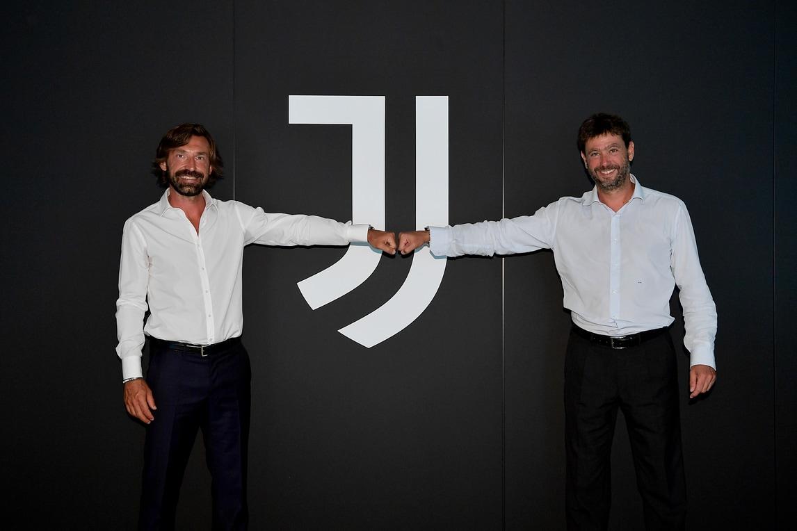Pirlo uomo di Juve: la presentazione da tecnico dell'Under 23