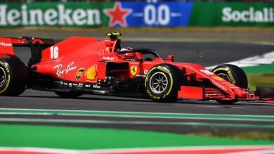 GP 70° Anniversario, Leclerc sorprende ma è quarto. Verstappen sconfigge la Mercedes