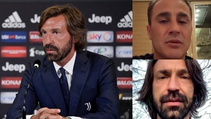 Pirlo, la sua Juve sarà con il 4-3-3: l'anticipazione a Cannavaro