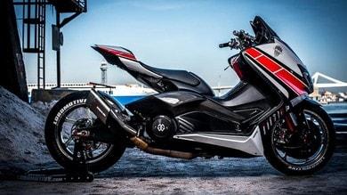 Lobomax, la Yamaha T-MAX trasformata in R1   gli scatti