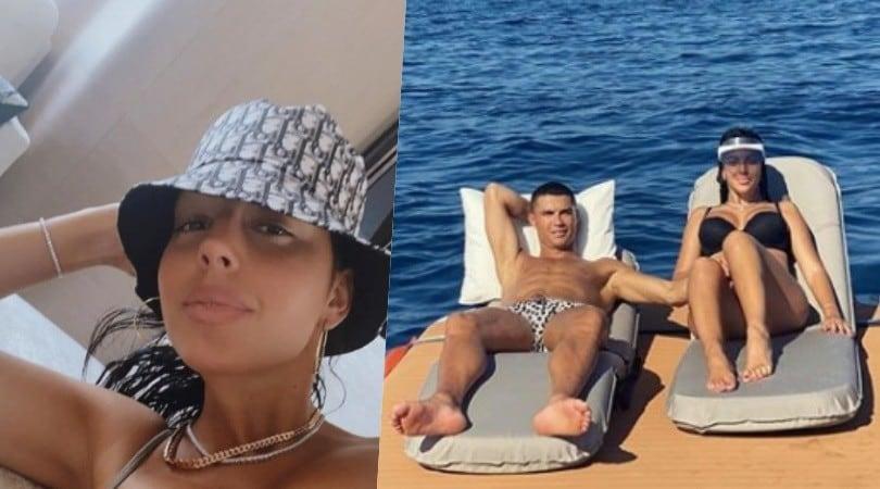 Ronaldo e Georgina, relax a Sanremo sul super yacht