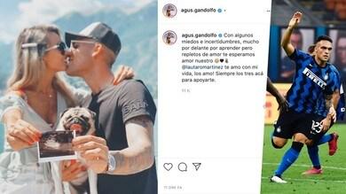 Inter, Lautaro presto papà: Agustina è in dolce attesa