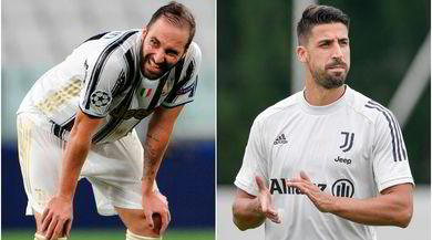 Svecchia Signora: la Juve discute con Higuain e Khedira