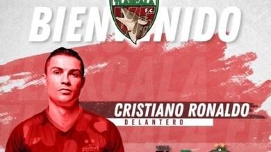 Cristiano Ronaldo, l'annuncio del Tlaxcala: